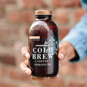 As low as $12.77Starbucks Cold Brew Coffee, Cocoa & Honey with Cream, 11 Fl oz Glass Bottles, 6 Count