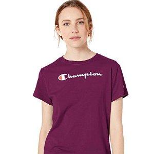 $11.71Champion Women's Classic Jersey Short Sleeve Tee