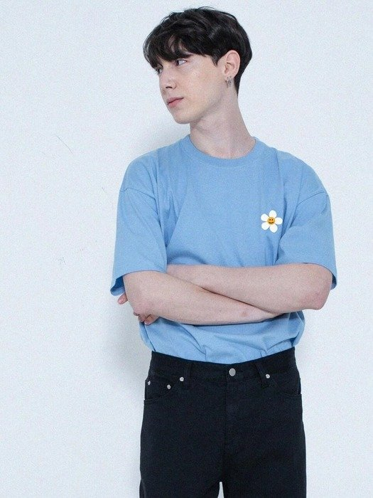 [UNISEX] 花朵T恤
