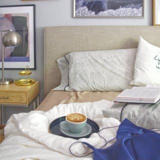 LILYSILK | 享受慵懒舒适的卧室时光,真丝床品不能缺席!