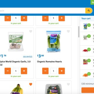 懒兔子恋上Walmart grocery网购