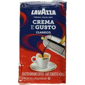 带有一丝巧克力味意式浓缩咖啡砖, 250g