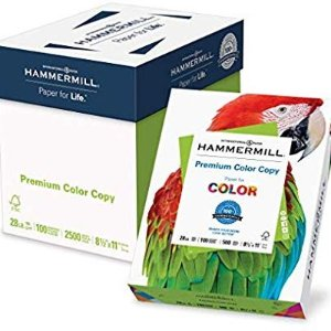 $38.74Hammermill Premium Color Copy Paper 8.5 x 11 ,2500 Sheets