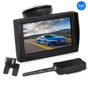 无需布线 $69.29AUTO-VOX W1 无线倒车影像系统 + 4.3吋显示屏