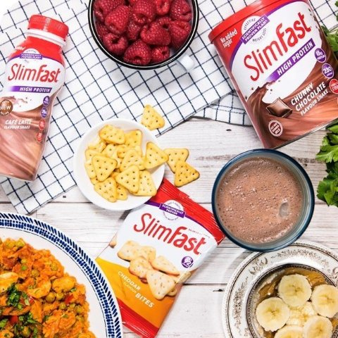 低至6.5折 £5收12餐奶昔SlimFast 英国超火代餐品牌热卖 减脂路上好帮手