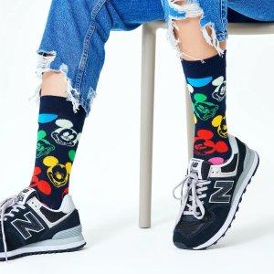 $8起Happy Socks 迪士尼合作款时尚儿童袜热卖
