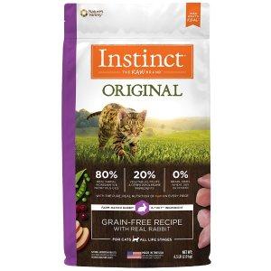Instinct兔肉味猫粮 10lb