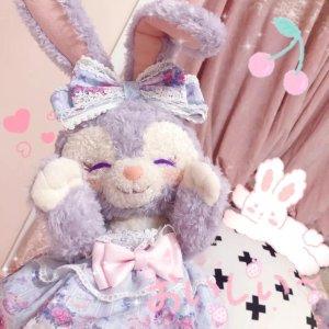 直邮含税到手价$41起东京迪士尼限定 星黛露周边 可爱的兔兔女孩马上get~
