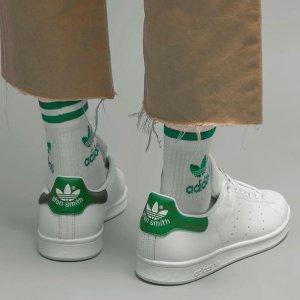 低至4.3折起 封面小白鞋大童£35adidas 运动风春季大促来袭 精选潮流服饰、运动鞋好价收