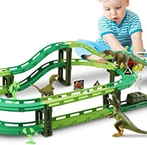 恐龙立体赛车场