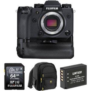 $1299Fujifilm X-H1 24.3MP 4K 无反机身 + 手柄 + 配件套装