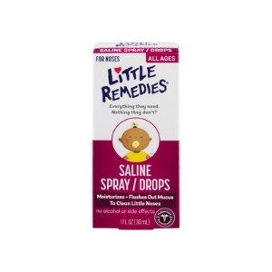 Children's Little Remedies for Noses Saline Drops - 1 fl oz : Target