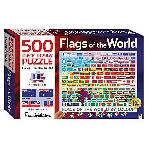 世界国旗拼图 500块