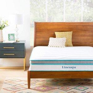$174.99Linenspa 10英寸记忆泡沫床垫