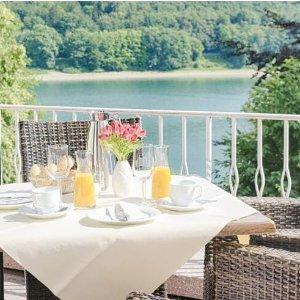 低至每人€99起 天然氧吧 放松身心梅舍德4星酒店2晚 含每日自助早餐+一顿晚饭+桑拿浴室疗养等