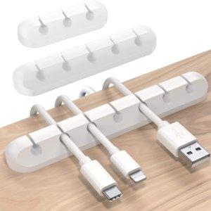 3个仅售€8.95Soulwit 充电线固定器 干净整洁 使用方便 多个孔位可选