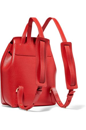 Mansur Gavriel | Mini textured-leather backpack  | NET-A-PORTER.COM
