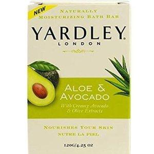 $0.9(原价$5.99)Yardley London 芦荟牛油果保湿香皂热卖