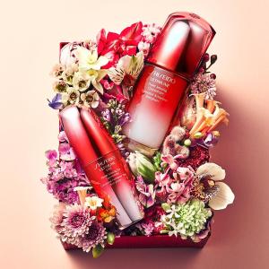 变相6.8折 $190(价值$280) 独家提前享Shiseido官网 120ml 红腰子精华超值装热卖 万年销量王