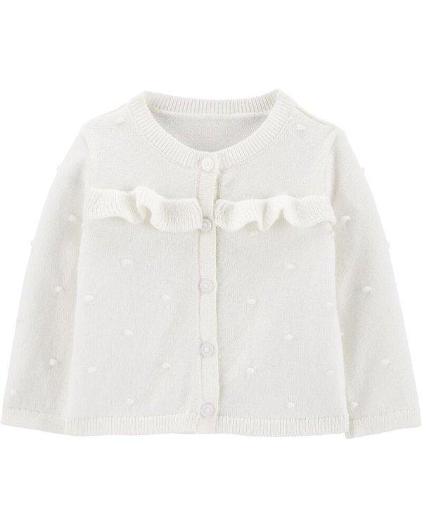 女婴、幼儿编织衫