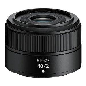 $299.95 长45.5mm/重170g新品上市:Nikon 尼克尔 Z 40mm f/2 定焦镜头
