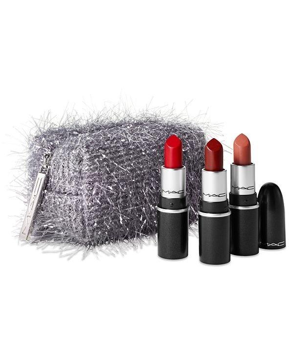 子弹头口红组+化妆包4件套