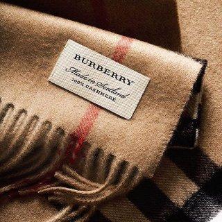 低至6折 多款格纹围巾$299起Burberry精选围巾热卖 经典英伦风格纹羊绒围巾超好价