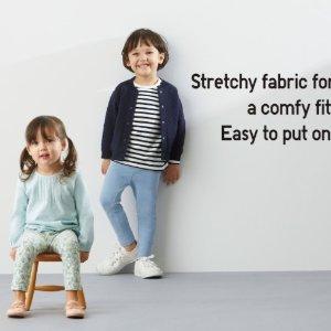2件$12.90 原价$7.9/件Uniqlo 婴幼儿打底裤限时特卖