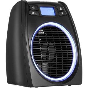 DimplexGloFan Hot & Cool DXGL02 Fan Heater 2000W - Black