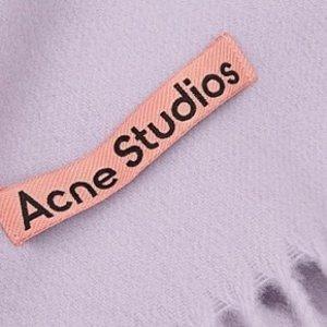 立省$25 收高街冷帽Acne Studios 秋冬衣橱永远的C位 毛线帽、围巾好价收