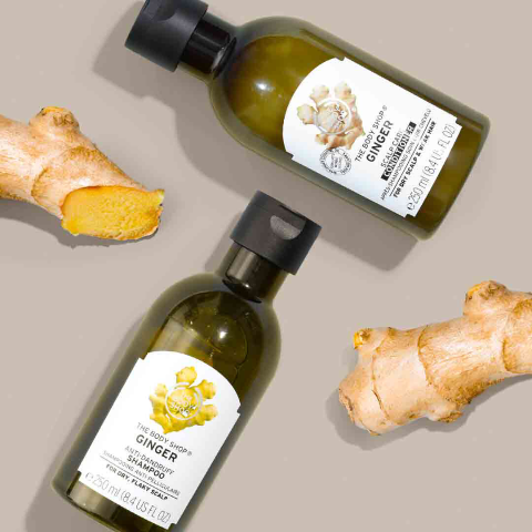 The Body Shop Ginger Scalp Care Shampoo Sale