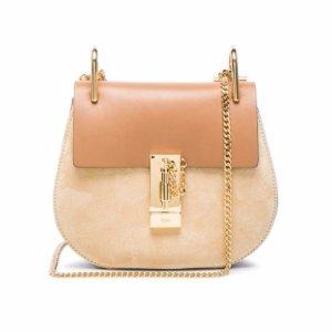 CHLOE Mini Drew Leather & Suede Bag @ Forward by Elyse Walker