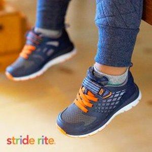 低至4.5折Stride Rite 儿童鞋热卖 全美妈妈首推品牌