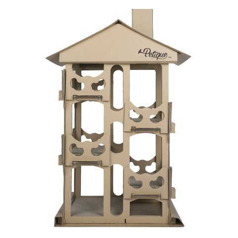 Up to 36% OffPetique Selected Cat Scratcher Toy Houses on Sale