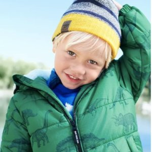 50-60% Off + 25% Off $50OshKosh BGosh Outerwear and Cold Weather Accessories  on Sale