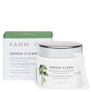 新低6.5折¥179(国内¥258)FARMACY 绿色洁净深层清洁膏 90ml,0差评卸妆产品