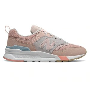 New Balance豆沙粉 997H 运动鞋