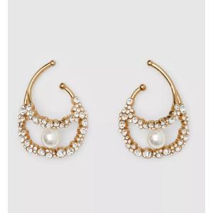 Burberry珍珠耳饰