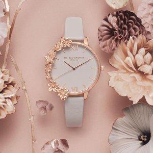 独家最高8折 Swarovski 天鹅系列有货Argento 全场满额优惠 收Oliva Burton 森女系手表