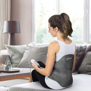 $26.24Sunbeam Heating Pad Back Wrap with Adjustable Strap 24 x 15 Inch