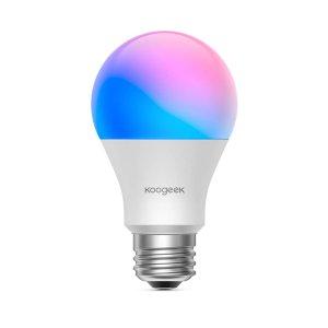 新品上市 $13.99起, 最高立省$50上新:Koogeek新年独家促销, Wi-Fi 8.5 W可调光智能LED灯泡