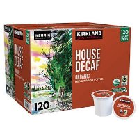 Kirkland K-cup 有机无咖啡因咖啡 120颗装