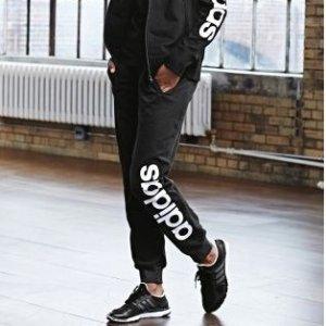 $23(原价$45)+包邮adidas Essentials 女款休闲运动长裤