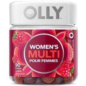 Olly女性友好女性树莓 多重维生素 90粒