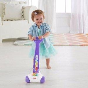 Fisher-Price 经典款紫色爆米花推车玩具