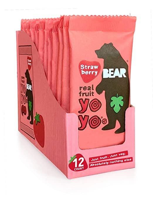 纯天然水果果丹皮卷 草莓口味 12袋装