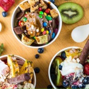$6(原价$10) 四店通用Frozen by a Thousand Blessings 墨尔本酸奶冰淇淋团购
