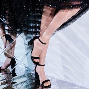 7折 €245收凉鞋Stuart Weitzman官网 春季大促 靴子、夏季一字带凉鞋参与