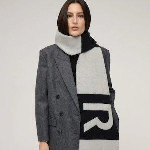 一律6折 €236收maxmara羊绒围巾LVR 新年温暖专场 秋冬必备的围巾们来了