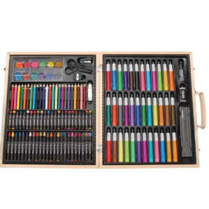 $22.27(原价$53)Darice 131件画笔木盒豪华套装